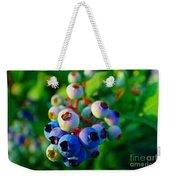 Blue Berries  Weekender Tote Bag