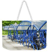 Blue Bicycle Berth Weekender Tote Bag