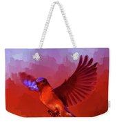 Blue Bird 01  Weekender Tote Bag