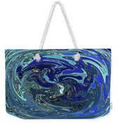 Blue Bird Abstract Weekender Tote Bag