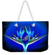 Blue Bird Of Paradise Weekender Tote Bag