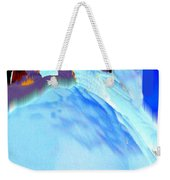 Blue Blanket Weekender Tote Bag