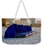 Blue Blocker Weekender Tote Bag