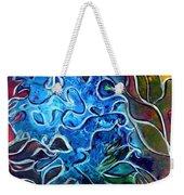 Blue Blossom Weekender Tote Bag
