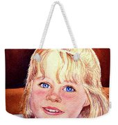 Blue Blue Eyes Weekender Tote Bag