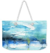 Blue Blue The World Is Blue Weekender Tote Bag