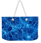 Blue Blue Water Weekender Tote Bag