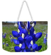 Blue Bonnet Weekender Tote Bag