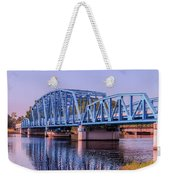 Blue Bridge Georgia Florida Line Weekender Tote Bag