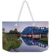 Blue Bridge Over The St. Marys River Kingsland, Georgia Weekender Tote Bag