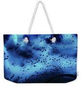 Blue Bubbles Weekender Tote Bag