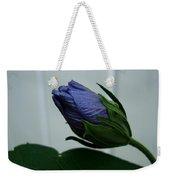 Blue Bud Weekender Tote Bag