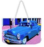 Blue Buick Weekender Tote Bag