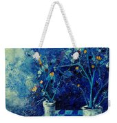 Blue Bunch Weekender Tote Bag