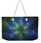 Blue Butterflies Weekender Tote Bag