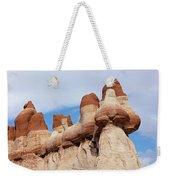 Blue Canyon Wall Weekender Tote Bag