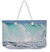 Blue Cascade   Hawaiian Wave Weekender Tote Bag