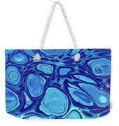 Blue Cells Weekender Tote Bag