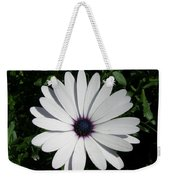 Blue Center Daisy Weekender Tote Bag