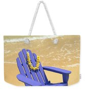 Blue Chair Weekender Tote Bag