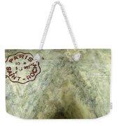 Blue Cheese Wheel Weekender Tote Bag