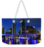 Blue City Weekender Tote Bag