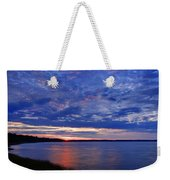 Blue Clouds Weekender Tote Bag