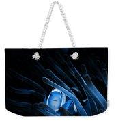 Blue Clownfish Big Size 15x11 - Beach House Art Weekender Tote Bag