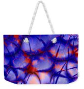 Blue Cobbles Stained With Blood Weekender Tote Bag