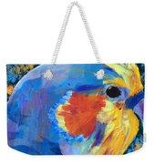 Blue Cockatiel Weekender Tote Bag