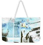 Blue Collage Weekender Tote Bag