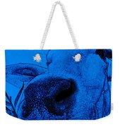 Blue Cow Weekender Tote Bag