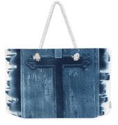 Blue Cross Weekender Tote Bag