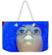 Blue Curled Cutie Weekender Tote Bag
