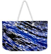 Blue Current Weekender Tote Bag