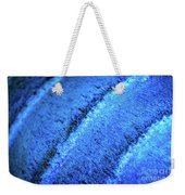 Blue Curves Weekender Tote Bag by Todd Blanchard