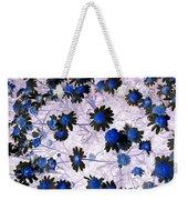 Blue Daisy Weekender Tote Bag