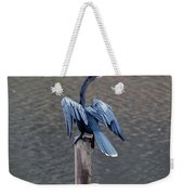 Blue Darter Weekender Tote Bag