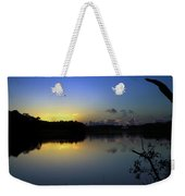 Blue Dawn At Dirickson Creek Weekender Tote Bag