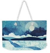 Blue Desert Weekender Tote Bag