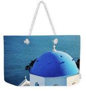 Blue Dome Weekender Tote Bag