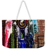 Blue Dome Shopping Weekender Tote Bag