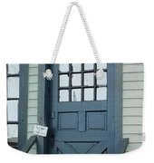 Blue Door At The Seaport Weekender Tote Bag