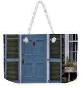 Nantucket Blue Door Weekender Tote Bag