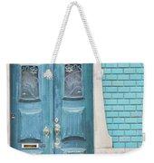 Blue Door, Portugal Weekender Tote Bag
