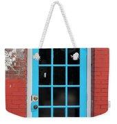 Blue Door Weekender Tote Bag