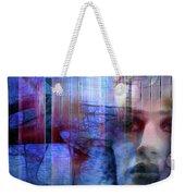 Blue Drama Vision Weekender Tote Bag