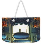 Blue Drawing Room Weekender Tote Bag