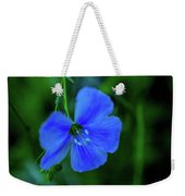 Blue Dreams 2 Weekender Tote Bag by Shiela Kowing