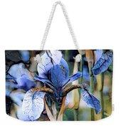 Blue Dutch Iris Weekender Tote Bag